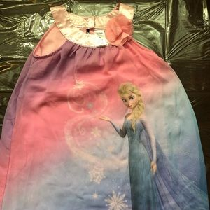 Disney H&M Frozen Elsa dress size 6. Multicolored